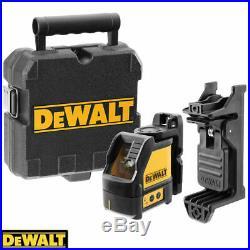 Dewalt DW088K Self-Levelling Cross Line Laser Level + Free Tape Measures 8M/26ft
