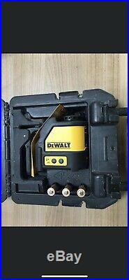 Dewalt DW088K Self levelling line cross line laser Unit dw088 genuine with case