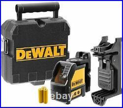 Dewalt DW088K-XJ Red Self Levelling Cross Line Laser Level NEW FREEPOST