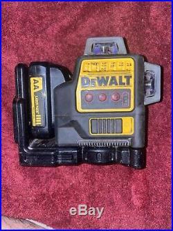 Dewalt DW089LR 12-Volt 3 x 360-Degree Lithium-Ion Locking Pendulum Line Laser