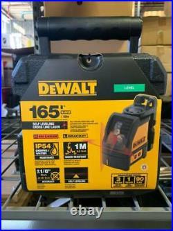 Dewalt Dw088k Self Leveling Horizontal/vertical Cross Line Laser Level