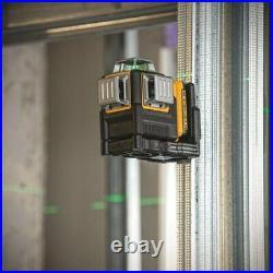 Dewalt Dw089Lg 12 V 3 X 360 Green Line Laser