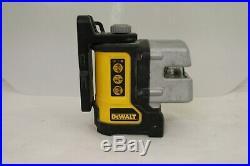 Dewalt Dw089 Self Leveling 3 Beam Laser Level No Case