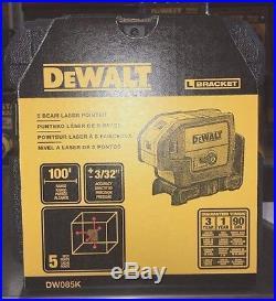 Dewalt Self Leveling 5-Point Laser DW085K