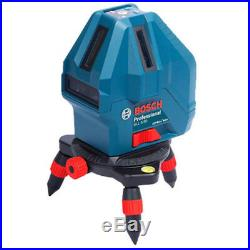 Free Shipping New BOSCH GLL 5-50X Professional 5-Line Laser Self Level Measure