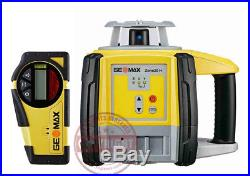 Geomax Zone 20h Self-leveling Slope Rotary Laser Level, Transit, Topcon, Spectra