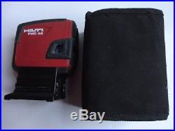 Good Hilti Pmc 46 Combi Laser Level Self-leveling, In Box Pma 78, Pma 20 Tripod