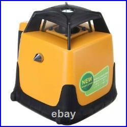 Green Beam Self Leveling 800m Range Rotating Laser Level Rotary + Tripod & Staff