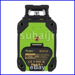 Green Laser Level 8 Line Self Leveling Outdoor 360 Degree Rotary Cross Measure