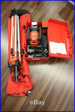 HILTI PR26 Rotating Self Leveling Laser with HILTI PUA 32 Tripod & Accessories