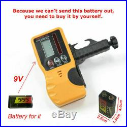High Accuracy Self-leveling Rotary/ Rotating Laser Level 500M Range Laser Level