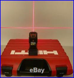 Hilti PMC46 Self Leveling Laser Level With PMA20 Tripod and PMA78 Adaptor