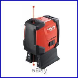 Hilti Pm 2-p 2 Point Laser Level Self-leveling Laser Level New #2047037