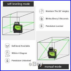 Huepar 901CG Professional Laser Level, Mute 150 Ft Green Beam Cross Laser