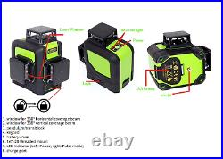 Huepar Laser Level 903cg Powerful 12 Lines 3d 360 Osram Technology Uk