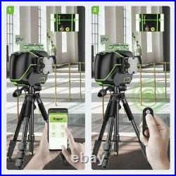 Huepar S03CG Laser Level 3D 360, Bluetooth, Remote control, LCD