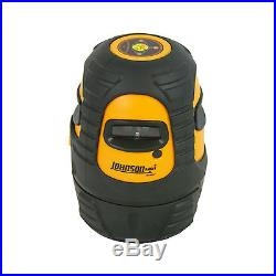 Johnson Level 40-6637 Self-Leveling 360 Degree Line Laser with Carrying Bag