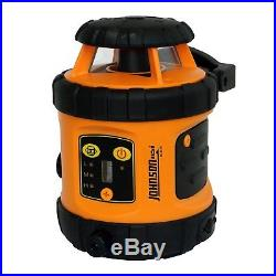 Johnson Level & Tool 99-006K Self Leveling Rotary Laser System Kit