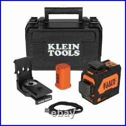 Klein 93PLL Rechargeable Self-Leveling Green Planar Laser Level