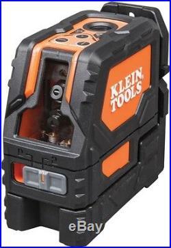 Klein Tools Self-Leveling Cross-Line Laser Level Plumb Spot Indoor/Outdoor