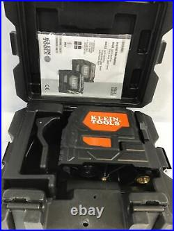 Klein Tools Self-Leveling Cross-Line Laser Level withHard Plastic Carrying CaseO
