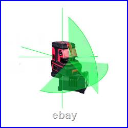 LETER Green laser line Self Levelling Cross Line laser level 5dots, 1V, 1H