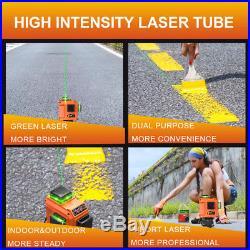 LOMVUM 3D 360° Laser Level Rotary Self-Leveling 12 line Measuring Precise Adjust
