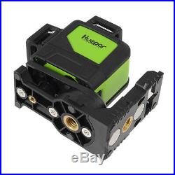 Laser Level 8 Line Green Self Leveling Outdoor 360° Rotary Cross Measure Tool UK