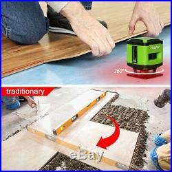Laser Square Level Tile Laying Huepar FL360 Floor Laser, Installation for