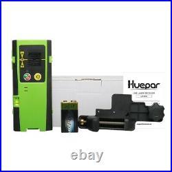 Laser level 360 Cross Line Green Self Leveling 130FT/40M+Laser Detector