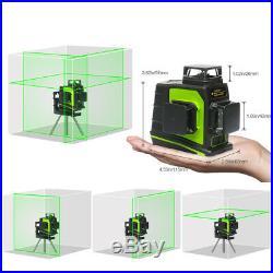 Laser level green beam 12 Lines 3D Cross Line Laser Self Leveling Measure Tool