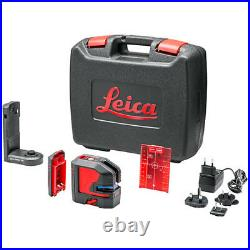 Leica Lino L2 Lithium Cross Line Laser Level Rechargeable Batteries