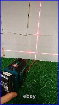 Makita SK105D 12v CXT Self Leveling Cross Line Laser Level Red With Batteries
