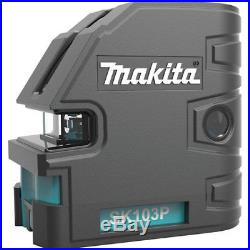 Makita Self-Leveling Combination Cross-Line/Point Laser SK103PZ New