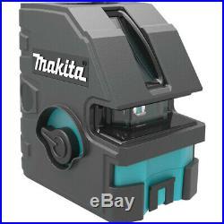 Makita Self-Leveling Horizontal/Vertical Cross-Line Laser SK104Z New