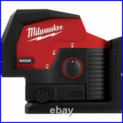 Milwaukee 3622-20 M12 Green Laser Level Red/Black