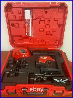 Milwaukee 3622-21 M12 Green Cross Line & Plumb Points Laser Kit