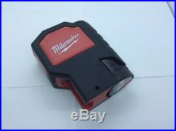 Milwaukee C12 BL2-0 12v Cordless Dot Self Leveling Box Laser Level