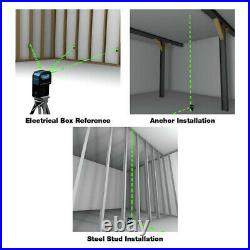 Milwaukee ELG3D 125 ft. Self-Leveling 3-Point Laser Green New