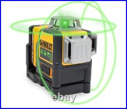 NEW 12Volt MAX Lithium-Ion 100 ft. Green Self-Leveling 3-Beam 360 Degree Laser