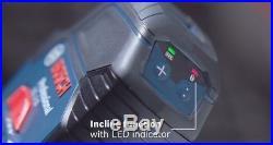 NEW BOSCH GCL 2-15 Self Leveling Cross Line Laser Level/Plumb +RM1 Mount Pouch
