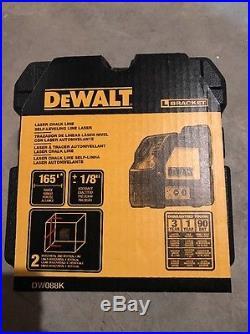 NEW DEWALT DW088K Cross Line Laser Self-Leveling Measuring Tool