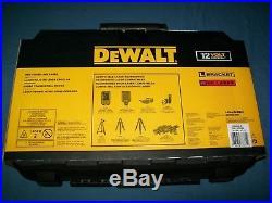 NEW DeWalt DW088LR 12V Lithium-Ion Self-Leveling RED Cross Line Laser