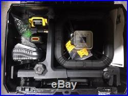 NEW Dewalt DW079LG 20 volt green beam Self Leveling rotary laser