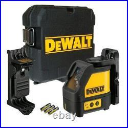 NEW Dewalt DW088K Red Cross Line Laser Self Leveling 165' Horizontal & Vertical