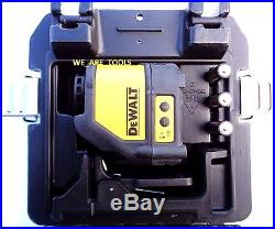 NEW Dewalt DW088K Self Leveling Cross Line Laser Horizontal & Vertical 3 Beam