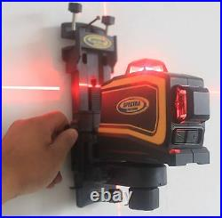 NEW Laser LT56 Self Leveling 3-Plain Cross Line Laser Level 360 Degree Line