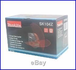 NEW Makita SK104 Cross line Self-Leveling laser level