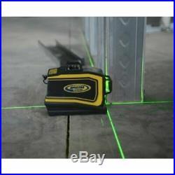 NEW Spectra Laser LT58G Green Beam Self Leveling 3-Plain Cross Line Laser Level
