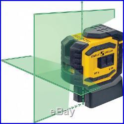 NEW Stabila 03185 LAX300G Green Beam Cross Laser Level (Authorized Dealer)